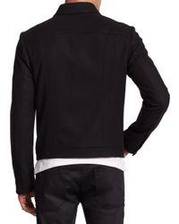 Saks Fifth Avenue - Black Brikon Jacket for Men - Lyst