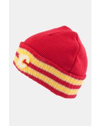 American Needle - Red 'calgary Flames - Slash' Knit Hat for Men - Lyst