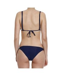 Emporio Armani - Blue Giorgio Armani Women's Swimwear - Lyst