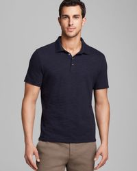 Elie Tahari - Blue Classic Fit Modern Craig Jersey Slub Polo for Men - Lyst