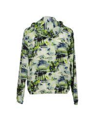 MSGM Multicolor Floral Print Jacket for men