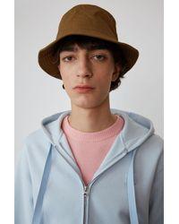 Sweatshirt à capuche Acne pour homme en coloris Blue