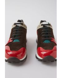Acne Multicolor Jimmy Cord multi Brown/red for men