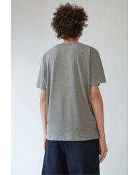 Acne - Gray Niagara Face zinc Grey Melange for Men - Lyst