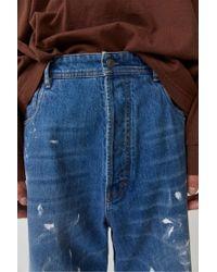 Acne - Oversized Jeans mid Blue for Men - Lyst