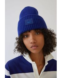 Acne - Pansy L Face royal Blue - Lyst