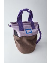 Acne - Purple Light Tote Bag lilac - Lyst