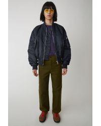 Acne Workwear Trousers hunter Green