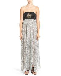 Rip Curl | Gray 'moon River' Maxi Dress | Lyst