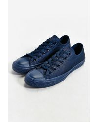 Converse Blue Chuck Taylor All Star Mono Low-top Sneaker for men