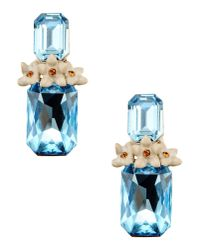 Roberto Cavalli | Blue Earrings | Lyst