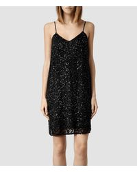 AllSaints Black Elixir Dress
