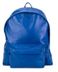 Carven - Blue Leather Backpack - Lyst