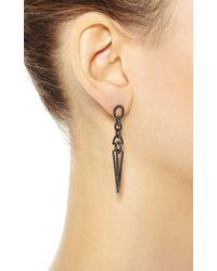 Elise Dray - Metallic Stalactite Earrings - Lyst