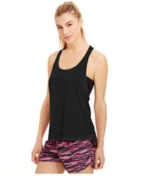 Under Armour | Black Alpha Heatgear® Mesh Racerback Tank Top | Lyst