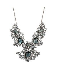 Alexis Bittar | Metallic Liquid Crystal Cluster Bib Necklace | Lyst