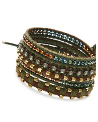 Nakamol | Multicolor Cassidy Wrap Bracelet-emerald | Lyst