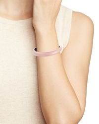 Alexis Bittar | Pink Lucite Skinny Tapered Bangle | Lyst