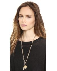 Marc By Marc Jacobs - Metallic Music Star Necklace - Oro Multi - Lyst