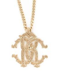 Roberto Cavalli Metallic 'Rc Swarovski' Necklace