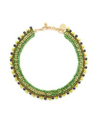 Venessa Arizaga - Green 'hawaii 5-0' Necklace - Lyst