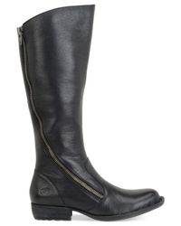 Born | Black Iona Tall Boots | Lyst