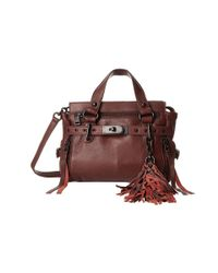 Ash | Purple Astor Mini Satchel | Lyst