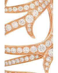 Stephen Webster - Pink Thorn Classic 18-Karat Rose Gold Diamond Ring - Lyst