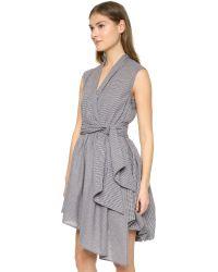 MLM Label - Black Billow Dress - Lyst
