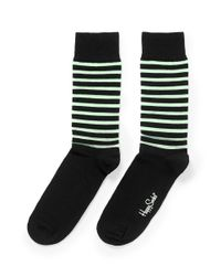 Happy Socks Multicolor Glow In The Dark' Stripe Socks for men