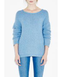 M.i.h Jeans - Blue Indigo Braid Sweater - Lyst