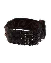 Beth Orduna - Black Beaded Bracelet - Lyst