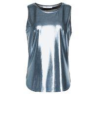 Liu Jo | Blue 'fraxinelle' Top | Lyst