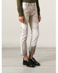 Isabel Marant - Natural 'Valone' Slim Fit Jeans - Lyst
