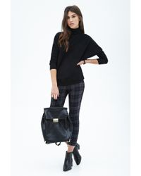 Forever 21 - Black Turtleneck Dolman Sweater - Lyst
