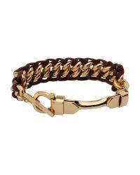 Ferragamo | Brown Bracelet | Lyst