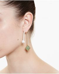 Volha Green Crystal Earring