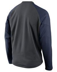 Nike Gray Men's New York Yankees Therma-fit 1.4 Crew Sweatshirt for men