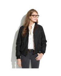 Madewell Black Chimalareg Reversible Codelane Deck Jacket