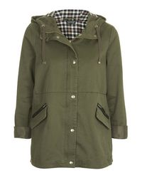 TOPSHOP | Natural Lightweight Swing Jacket | Lyst