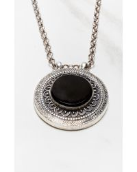 Natalie B. Jewelry | Black All Eyes On Me Necklace | Lyst