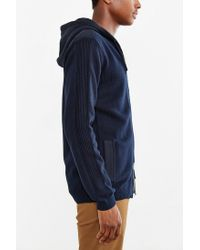 Globe - Black Stanley Hooded Zip-up Sweater for Men - Lyst