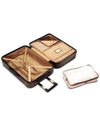 "Hartmann | Metallic Closeout! 50% Off Modern Vigor 22"" Carry On Hardside Spinner Suitcase | Lyst"