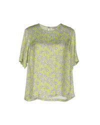 Chlotilde - Green Blouse - Lyst