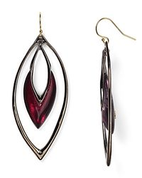 Alexis Bittar | Black Lucite Drop Earrings | Lyst