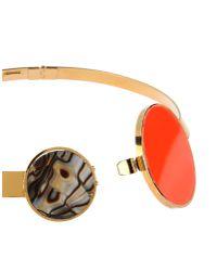 Vickisarge - Orange Necklace - Lyst