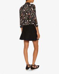 A.L.C. - Multicolor Desin Floral Print Zip Back Blouse - Lyst