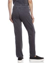 Marc New York - Gray Knit Drawstring Sweatpants - Lyst