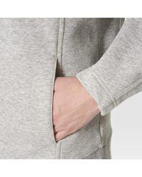 Adidas - Gray Essentials Hoodie - Lyst