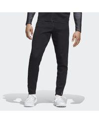 Adidas Black Z.n.e. Parley Primeknit Pants for men